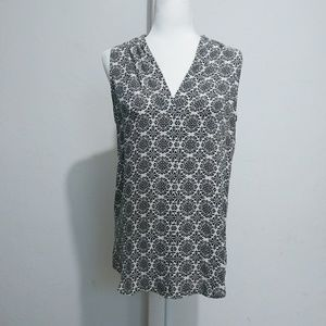 Theory short sleeves silk blouse Size L